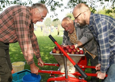 Steyning Community Orchard Apple Juicing Day Cancelled